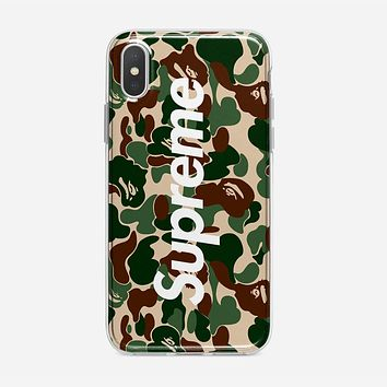 Bape Collaboration iPhone XS Case