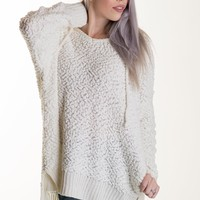 The Miracle Hoodie in Ivory