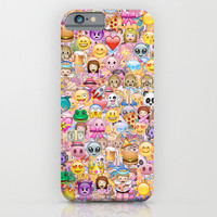 emoji iPhone & iPod Case by Marta Olga Klara
