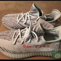 Adidas Yeezy Boost 350 V2 B37571 Blue Tint US Size 11