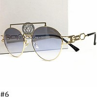 Samplefine2 Versace men and women fashion wild sunglasses metal frame color film glasses F-AJIN-BCYJSH #6