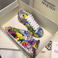 Alexander Mcqueen Graffiti Oversized Sneakers Reference #2 - Best Online Sale