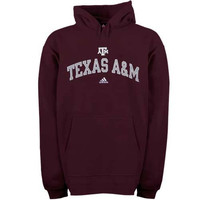 Texas A&M Aggies adidas In Play Pullover Hoodie – Maroon
