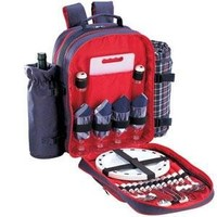 Sutherland Baskets Wyndham Picnic Backpack in Navy Blue SPB3019A1R