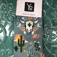 Bullhead and cactus socks