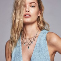 Free People Droplet Cage Collar