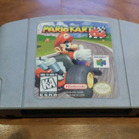 Mario Kart 64 Nintendo 64 n64 console system game - free shipping - classic video game