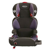 Graco Affix Youth Booster Seat with Latch System, Grapeade