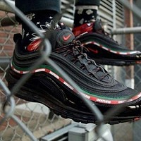 Nike Air Max 97 Bullet Air Cushion Breathable Casual Fashion Sports Running Shoes