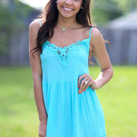 Wholehearted Dress - Mint