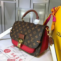 New LV Louis Vuitton M44353 Women's Leather Shoulder Bag LV Tote LV Handbag LV Shopping Bag LV Messenger Bags
