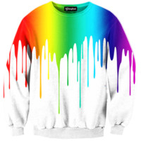 Melting Color Crewneck