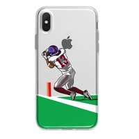 END ZONE ODELL BECKHAM JR CATCH CUSTOM IPHONE CASE