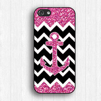 Glitter anchor IPhone 4s case,anchor Iphone case,anchor iPhone 5s Case,anchor iPhone 5 Case,anchor IPhone 4 case,anchor IPhone 5c case,