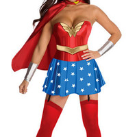 Halloween Costumes for Women Wonder Woman Costume CAdult Sexy Dress Cartoon Character Costumes Clothing