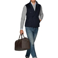 Navy Quilted Vest Bw113i | Suitsupply Online Store