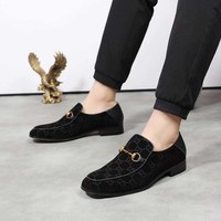 GUCCI Men Fashion Black Casual Retro Sneakers Shoes 2019 Best Quality