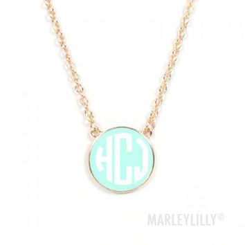 Initial Pendant Necklaces | Marleylilly