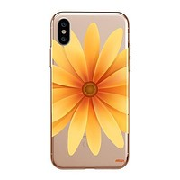 Yellow Daisy - Clear TPU - iPhone Case