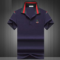 Gucci Casual Simple Men Short Sleeve  Shirt Top Tee