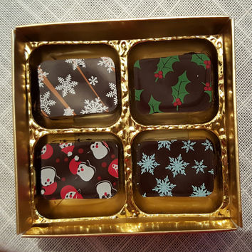 Artisan chocolates - Box of 4