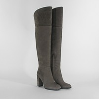 Kenneth Cole NY Jack Cement Over Knee Heels Womens Boots Size 5