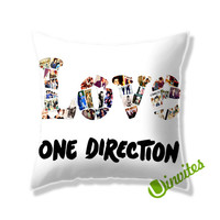 Love 1D Square Pillow Cover