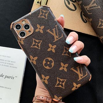 LV Louis Vuitton iPhone Phone Cover Case For iphone 7 7plus 8 8plus X XR XS MAX 11 Pro Max 12 Mini 12 Pro Max