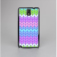 The Bright-Colored Knit Pattern Skin-Sert Case for the Samsung Galaxy Note 3