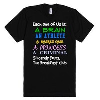 Breakfast Club Shirt-Unisex Black T-Shirt