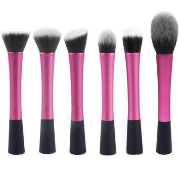 6pcs Pro Face Makeup Brush Set