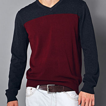 Classic Colorblocked Sweater