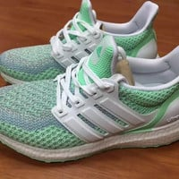 ADIDAS untrl boost Women Running Sport Casual Shoes Sneakers (Mint Green)