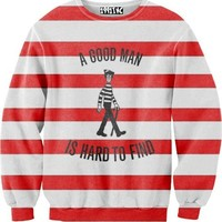 Where's Waldo A Good Man Is Hard To Find Sweater