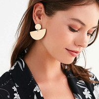 Half Moon Drop Statement Earring | Urban Outfitters