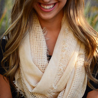 Simple Luxury Scarf - Ivory