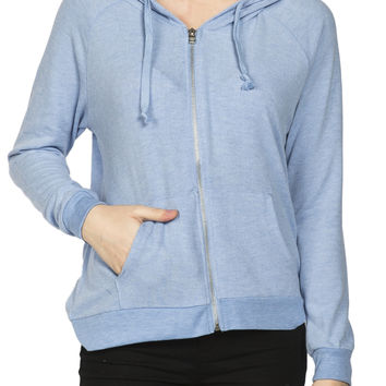 Girls French Terry Supersoft Zip Hoodie