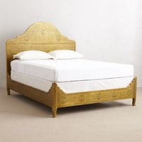 Hand-Embossed Bed by Anthropologie