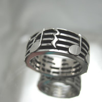 Sterling Silver Music Note Ring SALE limited time