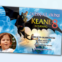 How To Train Your Dragon Sky Movie the beautiful personalized card as a digital file