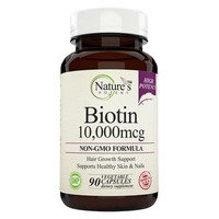 Nature's Potent - Biotin 10,000 mcg for Hair Growth