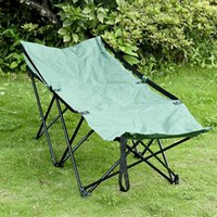 Military Style Folding Camping Cot – Green