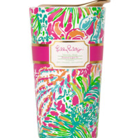 Lilly Pulitzer Travel Mug-Spot Ya