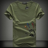 Men's Shirt Plus Large Shirt Men's Summer Short Sleeve Men
