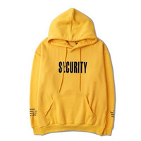 Security Hoodie Security Sweater Security Jacket Security Pullover Justin Bieber Hoodie Purpose Tour Hoodie Yeezus Hoodie TLOP Vaporwave Lit