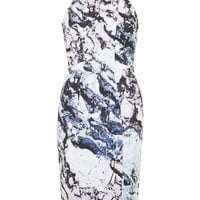 **Printed Cut-Out Dress By Kendall + Kylie at Topshop - Topshop