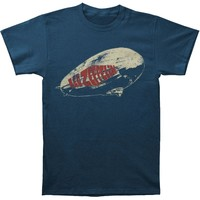 Led Zeppelin Men's  Legends T-shirt Navy