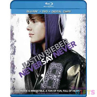 JUSTIN BIEBER-NEVER SAY NEVER (COMBO/BR/DVD/DC/2 DISCS)       NLA