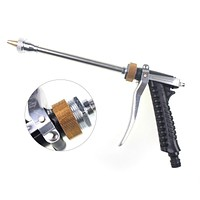 Brass Garden Water tools pressure  Gun Hose water garden Long nozzle watering car wash gun powerful clean garden spray gun