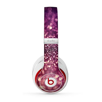 The Unfocused Purple & Pink Glimmer Skin for the Beats by Dre Studio (2013+ Version) Headphones